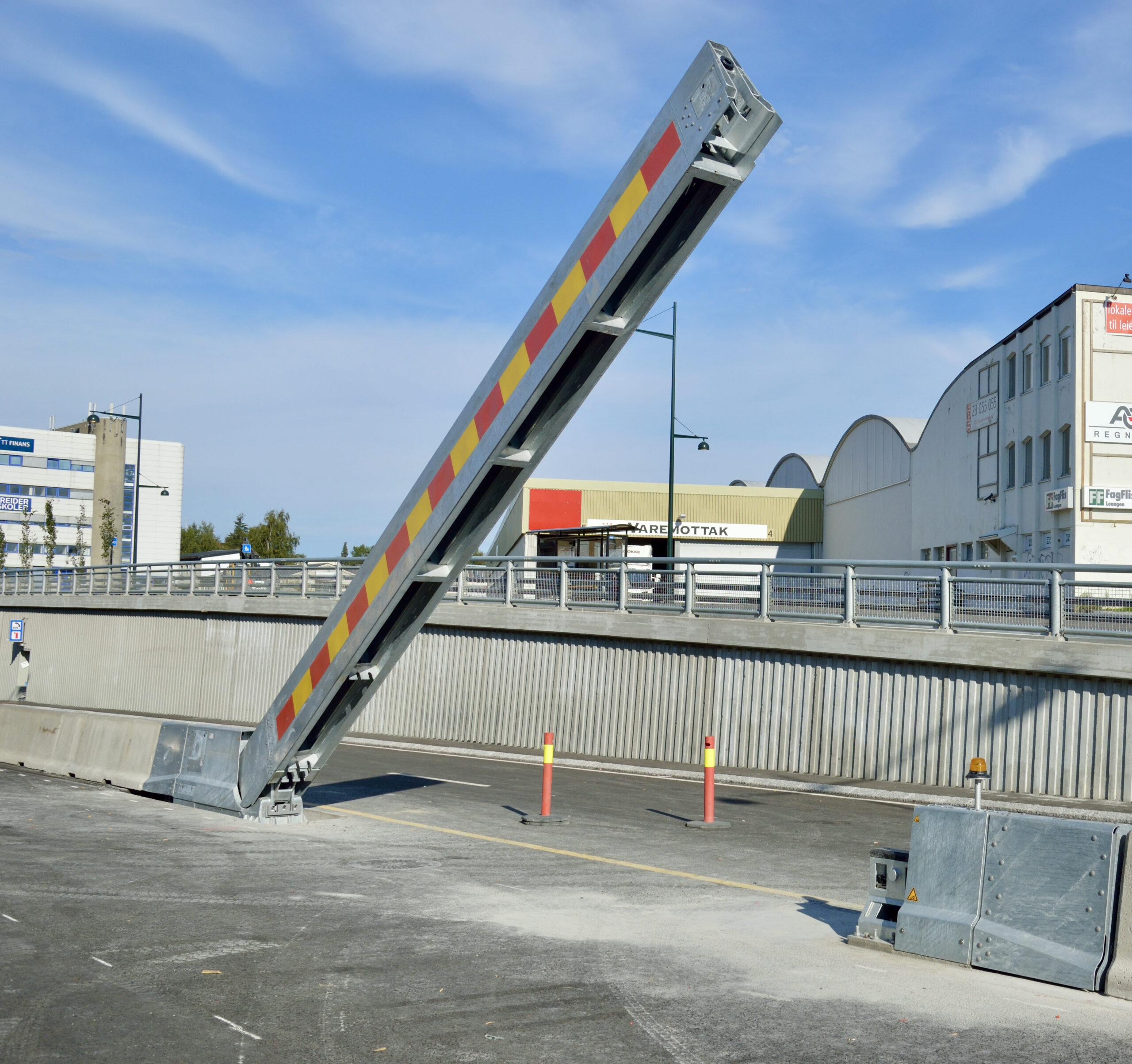 Emergency barrier electric 9m CADO